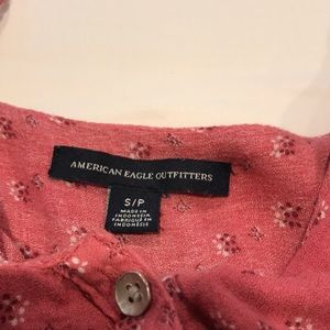 American Eagle Outfitters Tops - American Eagle Pink Tank Top